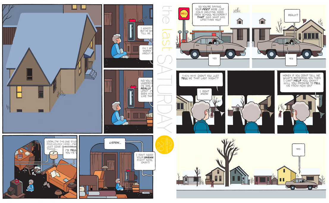 The Last Saturday: a HQ do Chris Ware pro Guardian – Parte #30