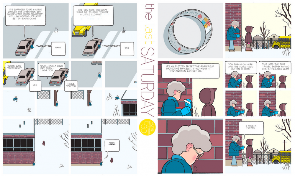 The Last Saturday: a HQ do Chris Ware pro Guardian – Parte #31