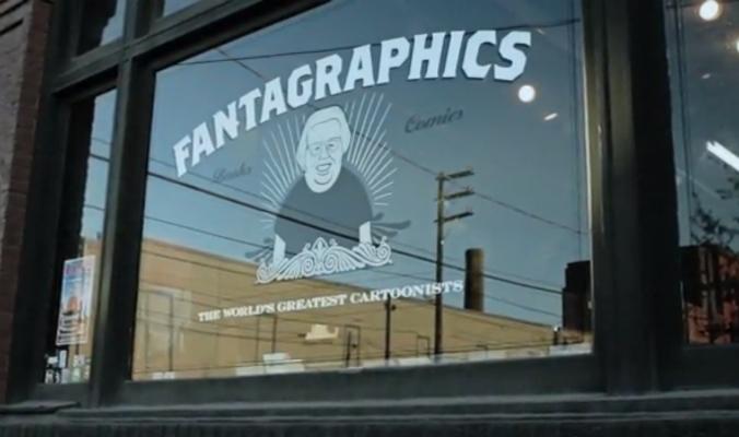 As origens da Fantagraphics