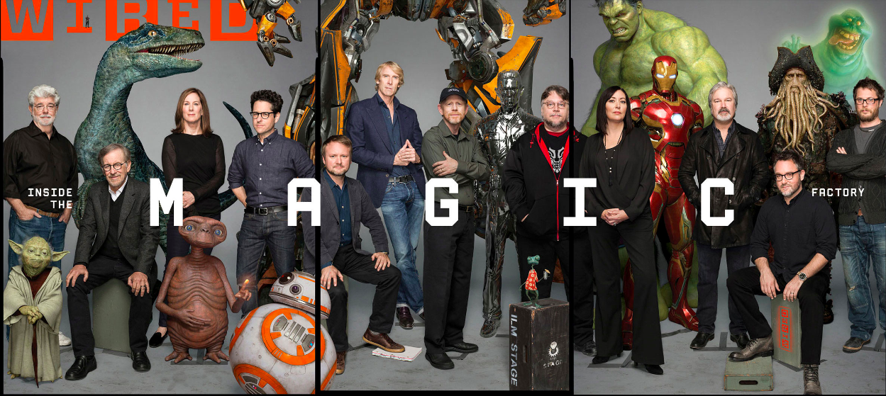 Os 40 anos da Industrial Light & Magic na capa da Wired