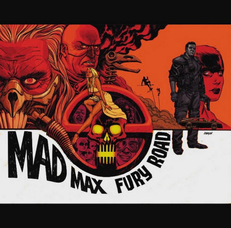 Mad Max, por Dave Johnson
