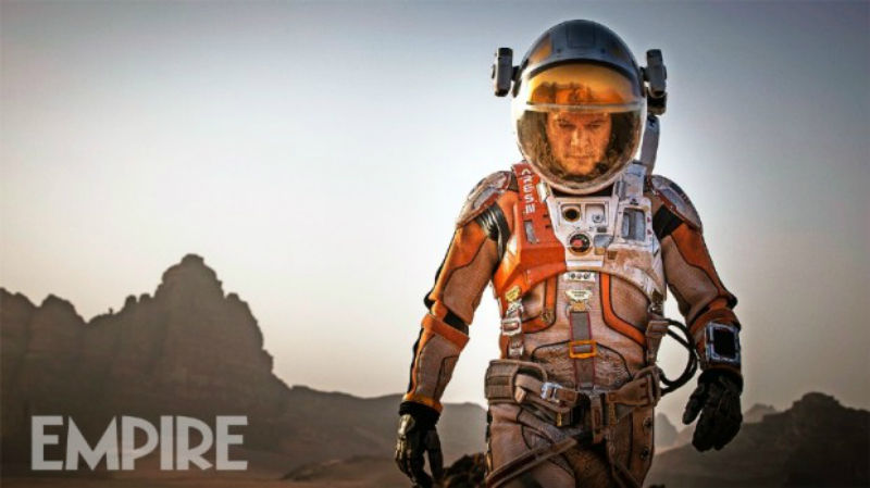 The Martian: as primeiras imagens de Matt Damon como o protagonista do filme de Ridley Scott