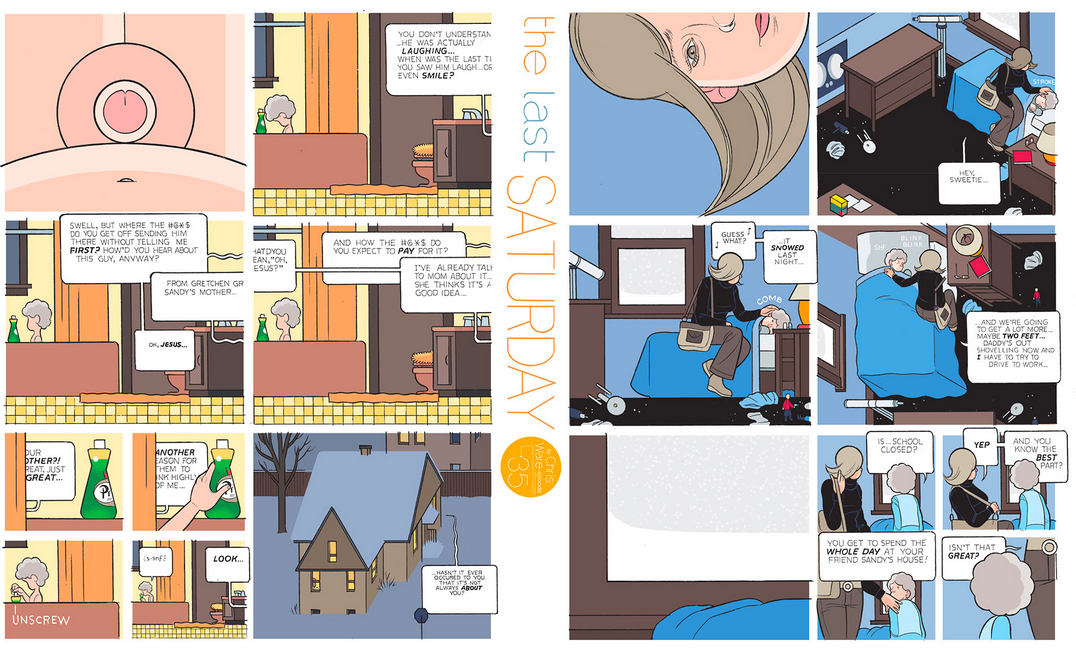 The Last Saturday: a HQ do Chris Ware pro Guardian – Parte #36
