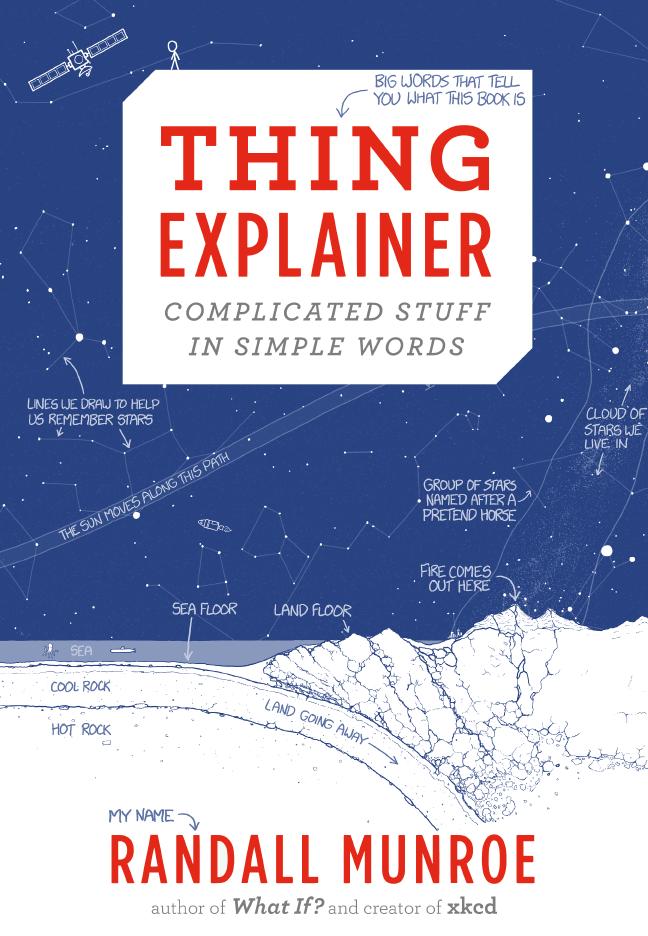 Thing Explainer: o novo livro de Randall Munroe será lançado dia 24 de novembro de 2015