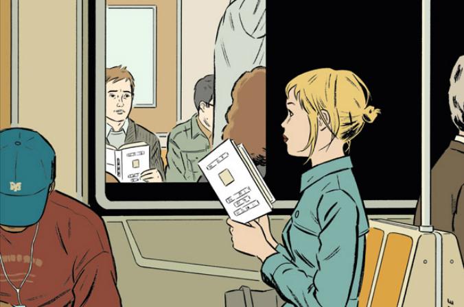 Adrian Tomine e a produção de Missed Connection, a primeira capa do artista para a New Yorker
