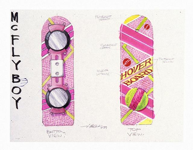 As artes conceituais de John Bell para o Hoverboard de De Volta Para o Futuro – Parte II