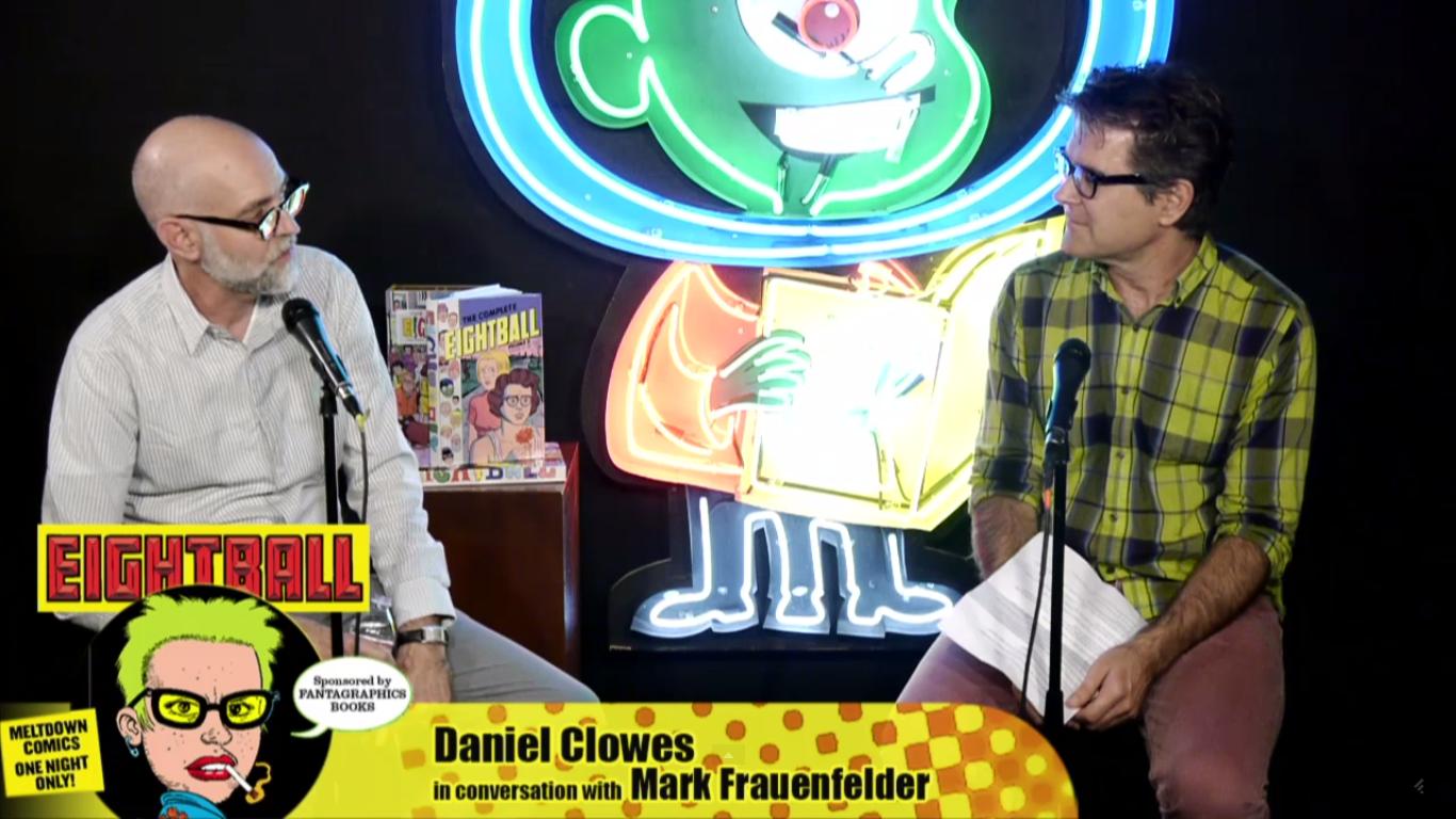 40 minutos de papo com Daniel Clowes