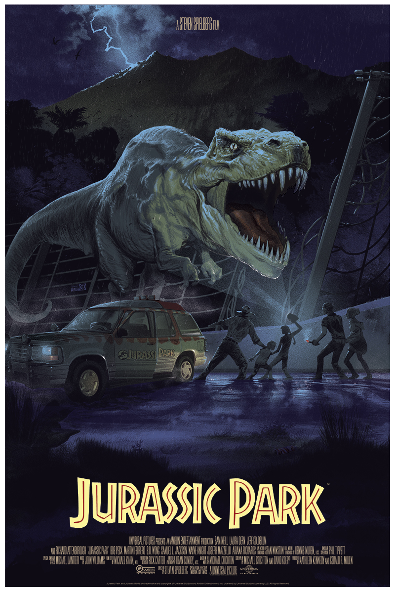 Jurassic Park em exposição na Mondo