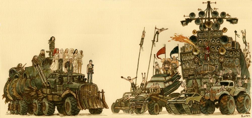 Mad Max: Fury Road, por Scott C.