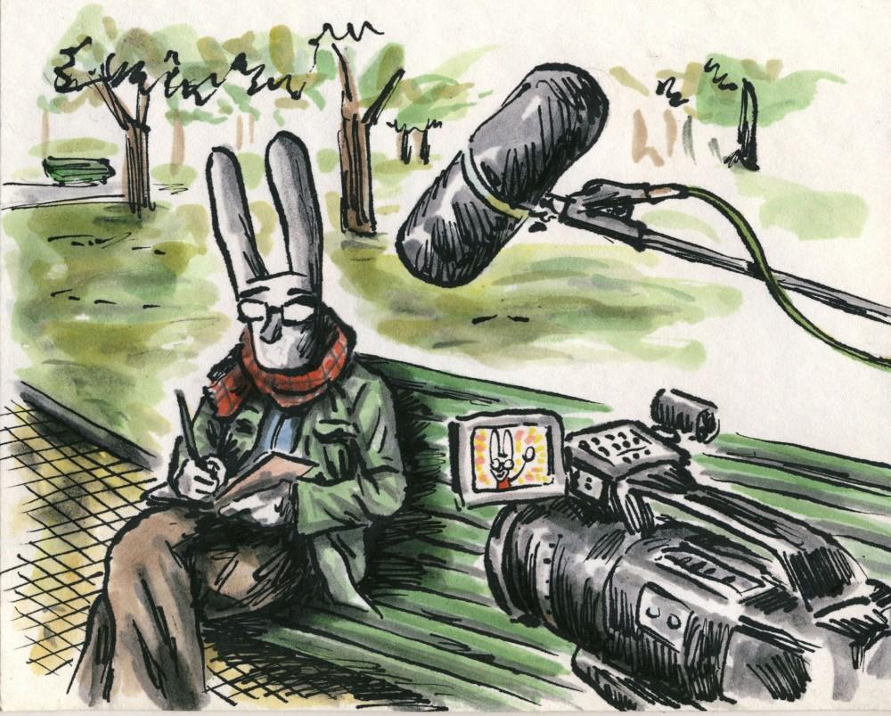 Uma conversa com Liniers