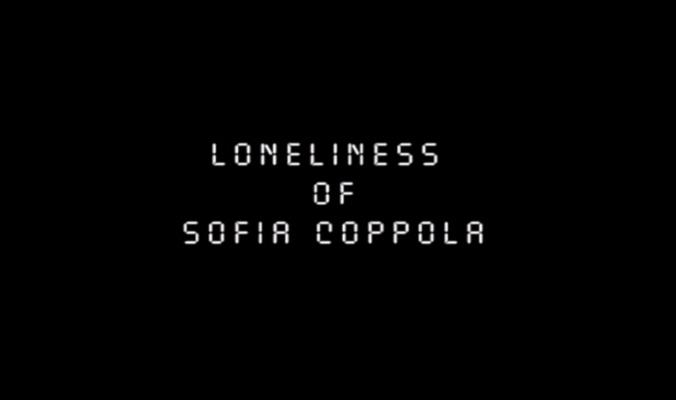 A solidão nos filmes de Sofia Coppola