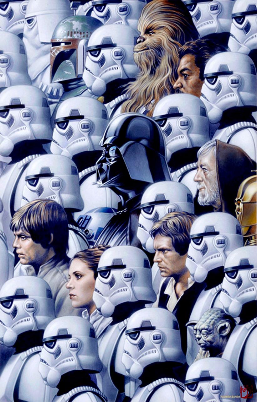 Star Wars, por Tsuneo Sanda