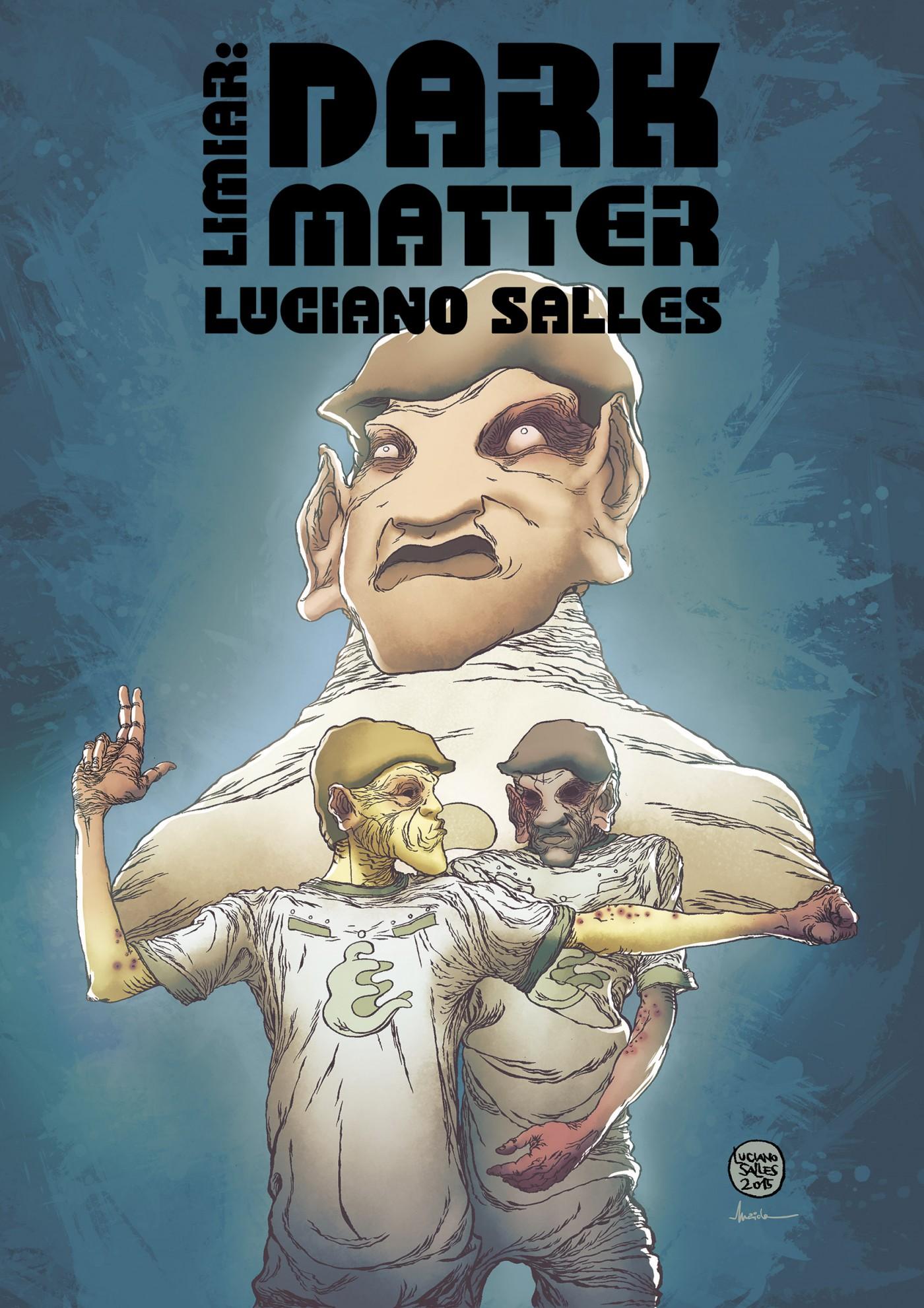 Limiar: Dark Matter: a próxima HQ de Luciano Salles será lançada em outubro e tem as primeiras imagens divulgadas