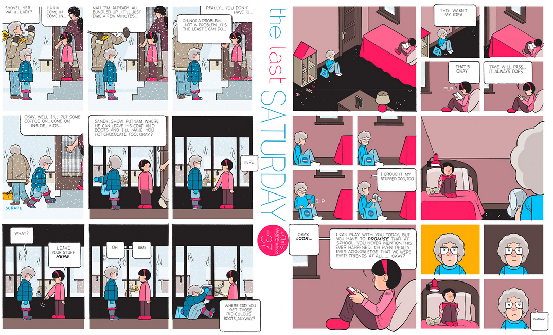 The Last Saturday: a HQ do Chris Ware pro Guardian – Parte #38