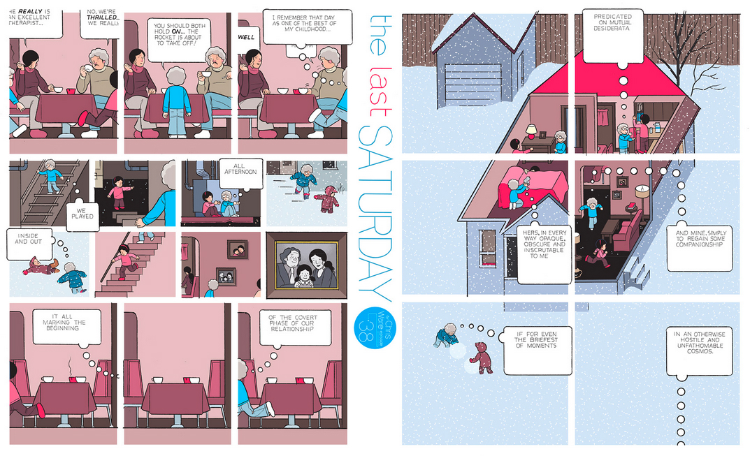 The Last Saturday: a HQ do Chris Ware pro Guardian – Parte #39
