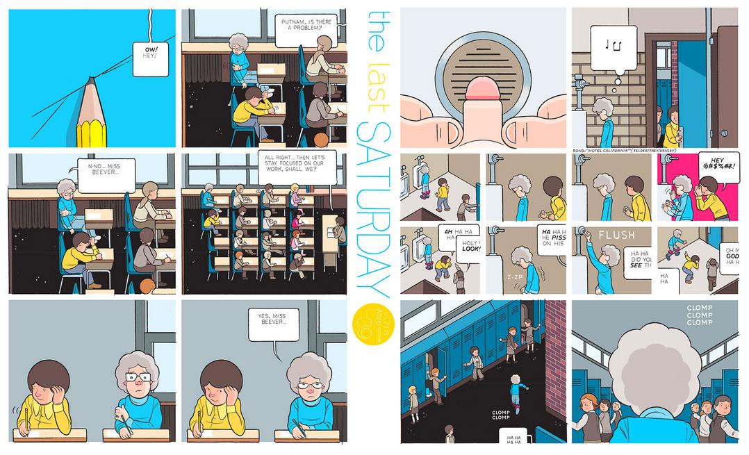 The Last Saturday: a HQ do Chris Ware pro Guardian – Parte #40