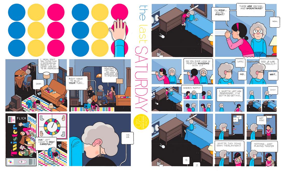 The Last Saturday: a HQ do Chris Ware pro Guardian – Parte #41