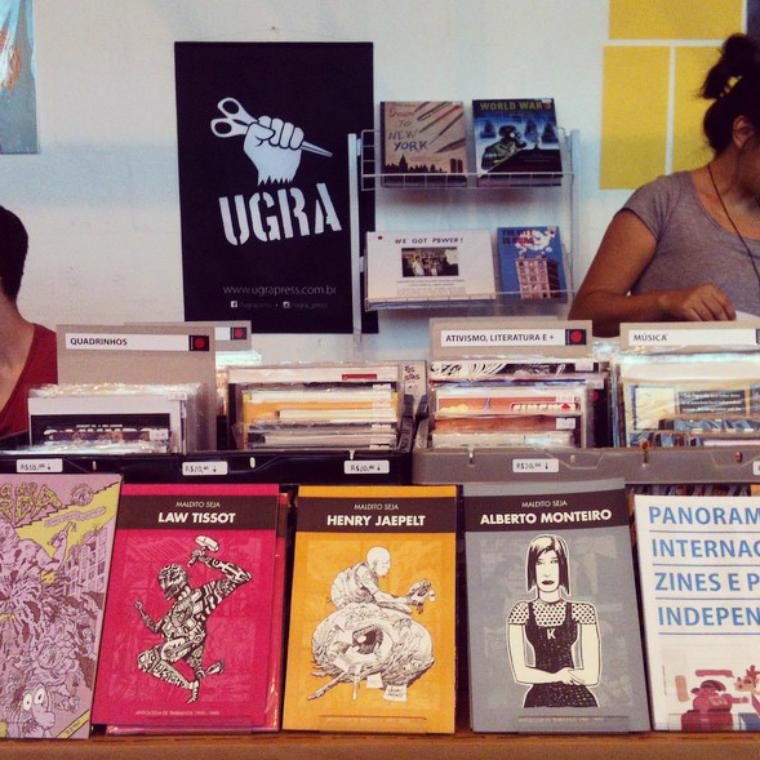 Ugra: a nova loja de quadrinhos e publicações independentes de São Paulo