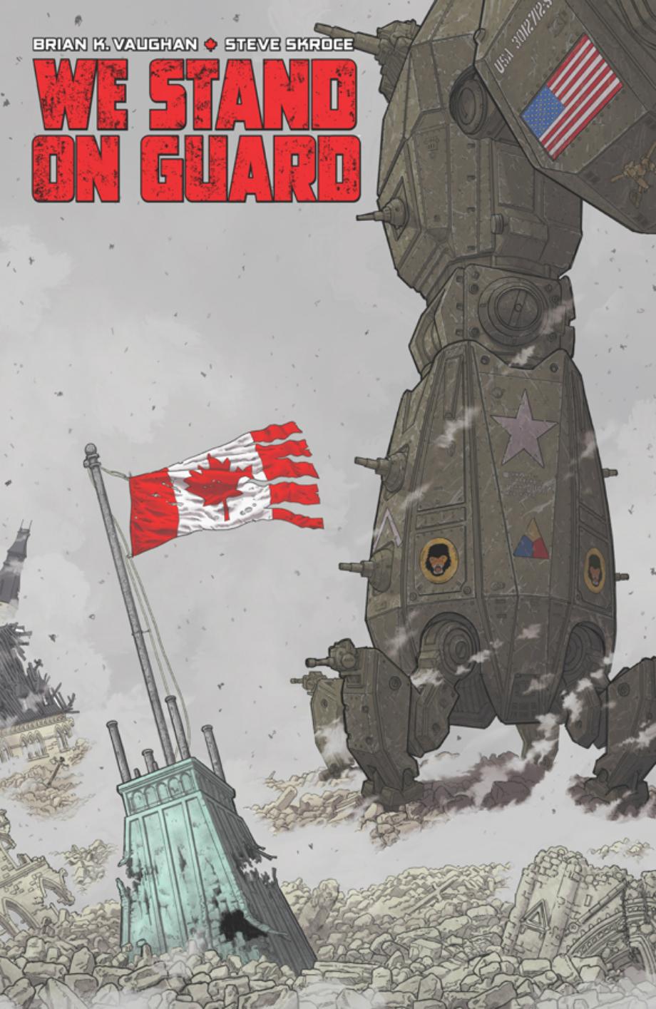 We Stand on Guard: a nova HQ de Brian K. Vaughan pela Image