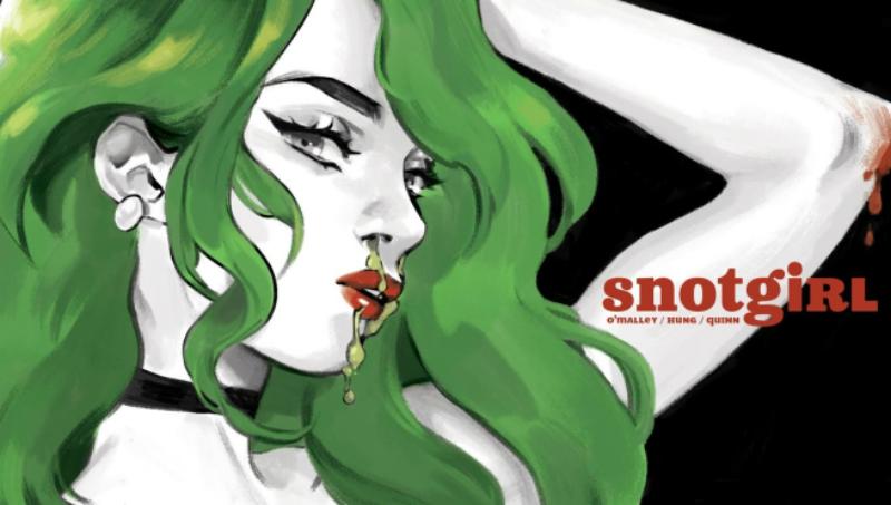 Snotgirl: a nova HQ de Bryan Lee O'Malley será protagonizada por blogueiros de moda