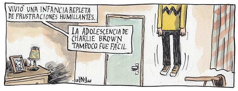 Odunacam: Liniers e a versão bizarra de Macanudo