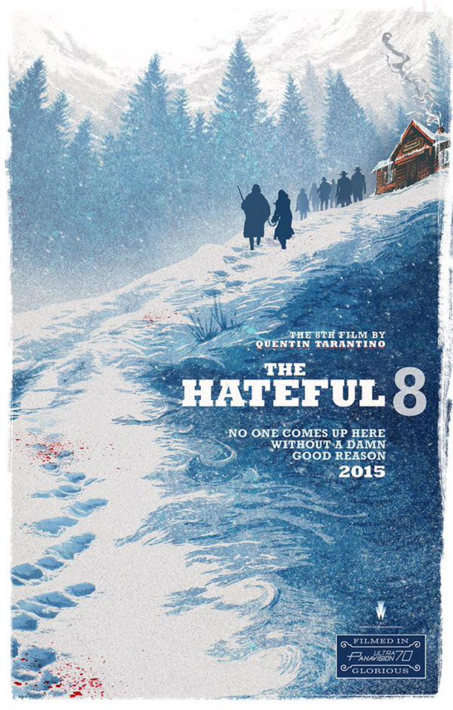 E esse pôster novo de The Hateful Eight?