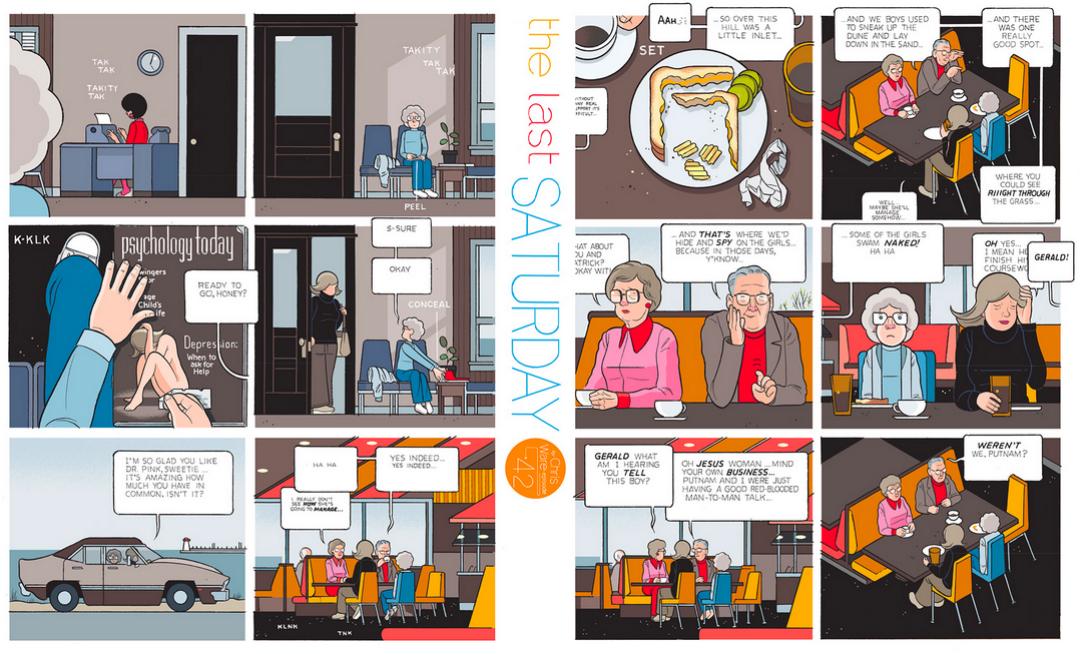 The Last Saturday: a HQ do Chris Ware pro Guardian – Parte #43