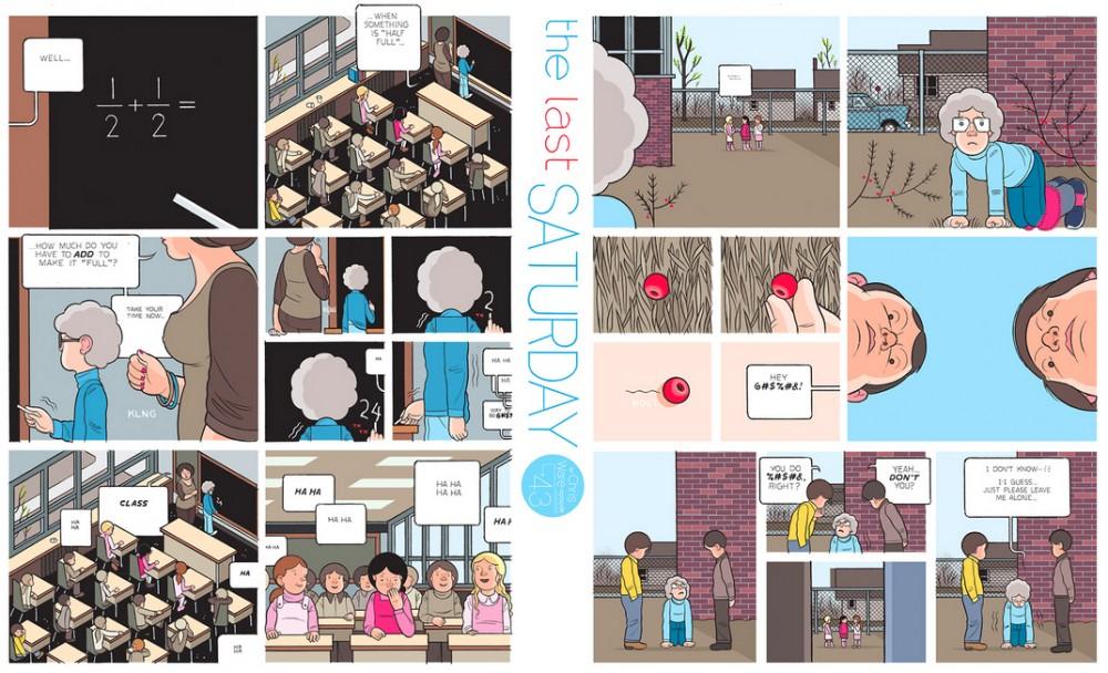 The Last Saturday: a HQ do Chris Ware pro Guardian – Parte #44