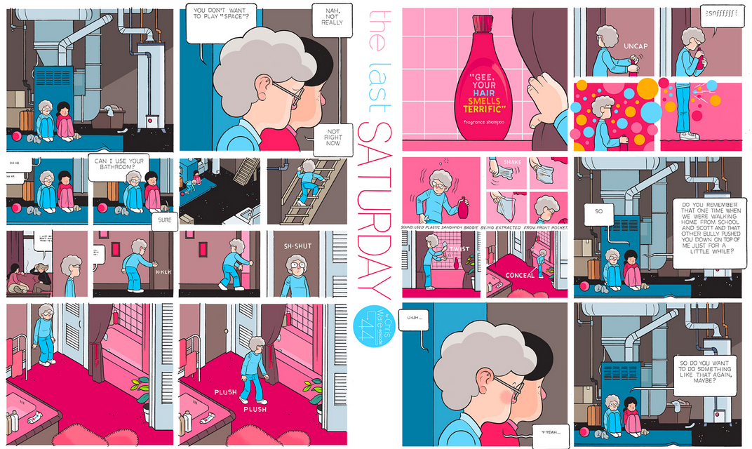 The Last Saturday: a HQ do Chris Ware pro Guardian – Parte #45