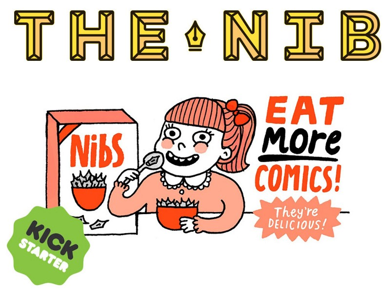 Eat More Comics! The Best of The Nib, a versão impressa do The Nib