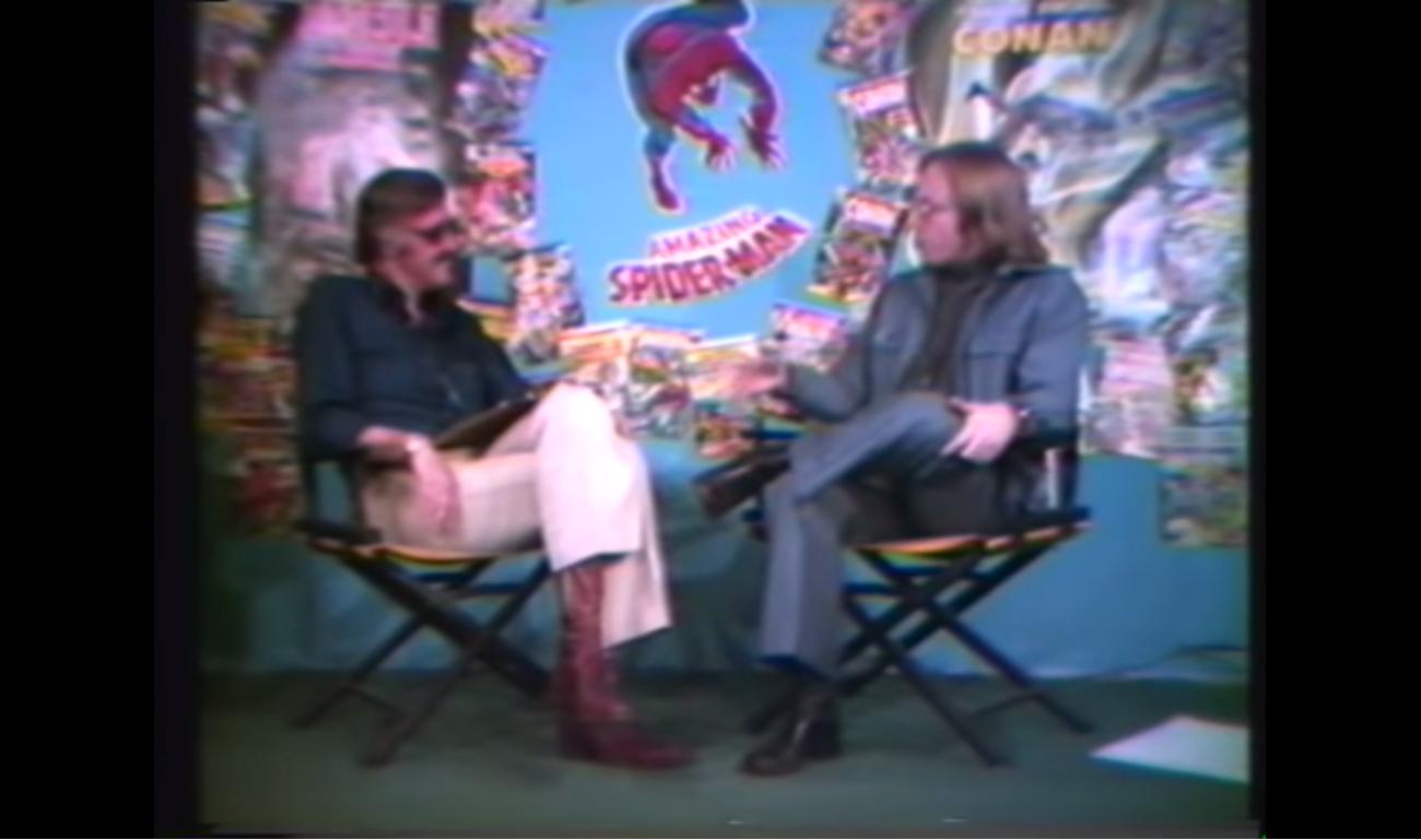 Stan Lee entrevista Roy Thomas em 1976