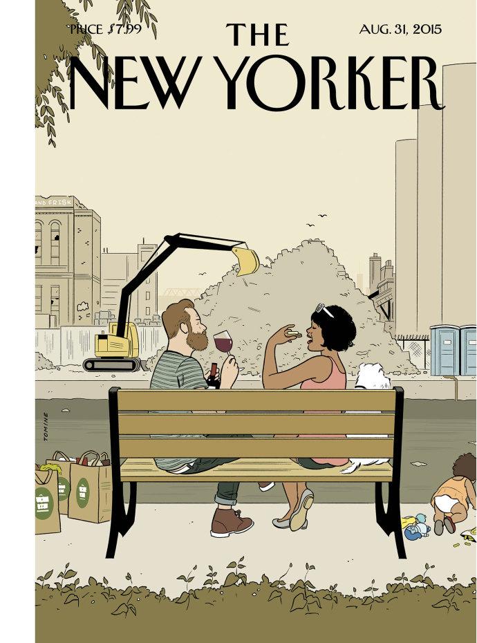 Adrian Tomine na capa da próxima edição da New Yorker