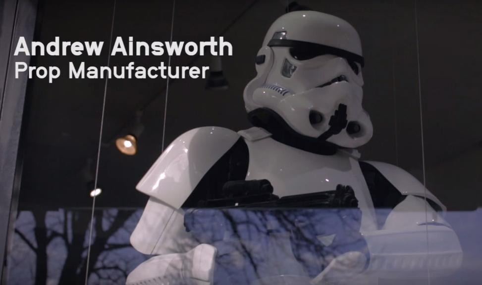 Uma conversa com Andrew Ainsworth, designer dos capacetes dos Stormtroopers de Star Wars