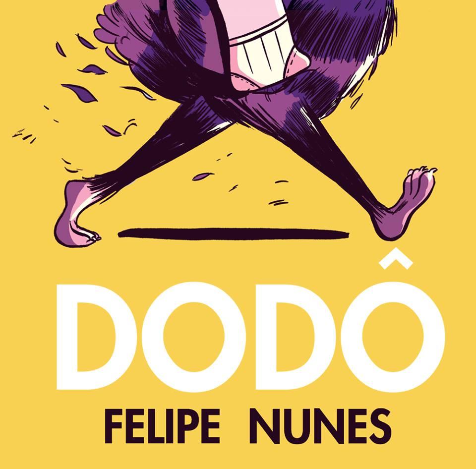 A fanpage de Dodô, a segunda graphic novel de Felipe Nunes