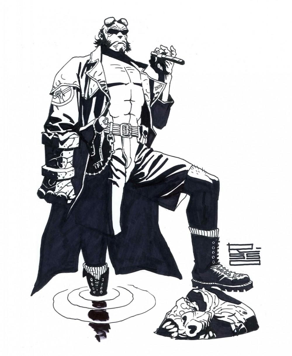 Hellboy, por Eduardo Risso