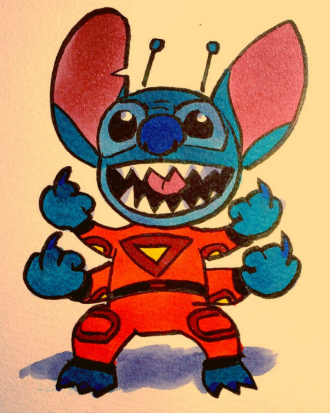 Stitch, por Bryan Lee O'Malley