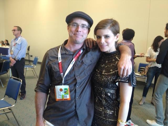 The Martian - Andy com Kate Mara durante a San Diego Comic Con