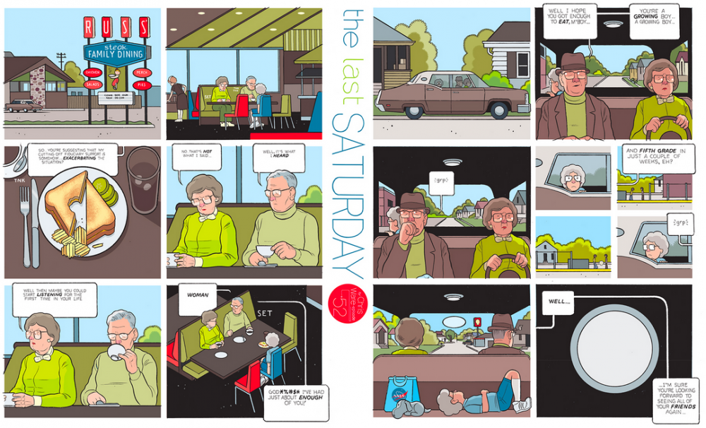The Last Saturday: a HQ do Chris Ware pro Guardian – Parte #53