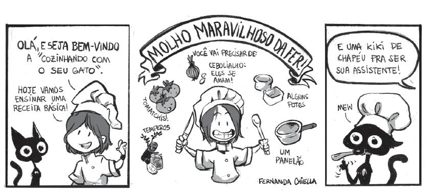 Quadrinhos, gastronomia e o Guia Culinário do Falido