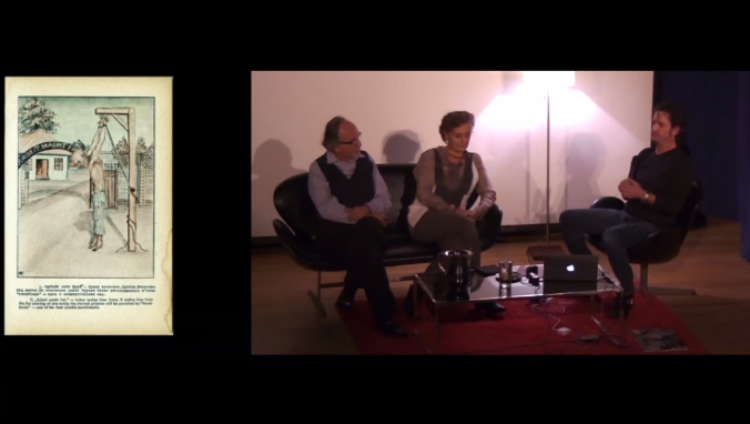 Mais de uma hora de conversa entre Art Spiegelman, Francoise Mouly e Jeff Smith sobre os 35 anos da RAW