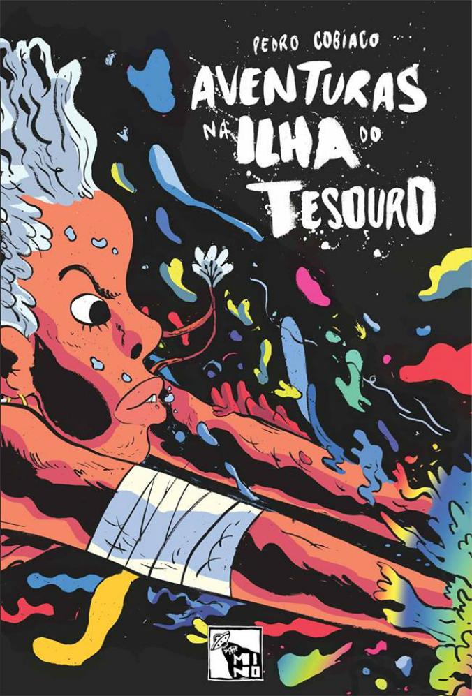 A capa da versão impressa de Aventuras na Ilha do Tesouro, do Pedro Cobiaco