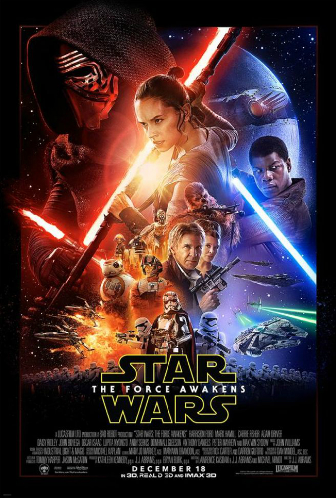 Sobre o pôster de Star Wars: Episódio VII – O Despertar da Força
