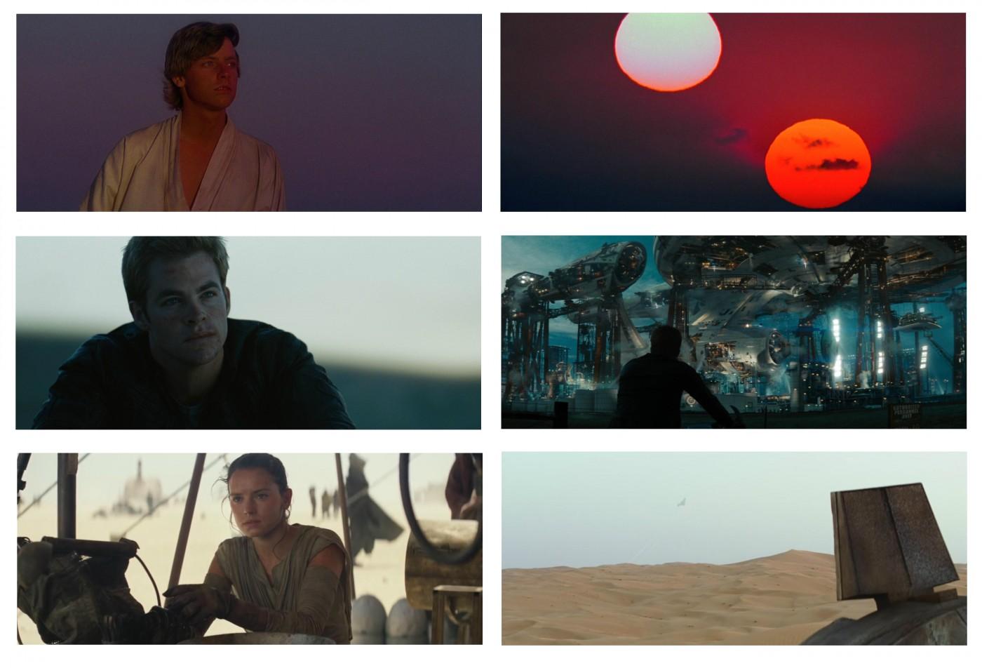 Luke, Kirk, Rey e a jornada do herói