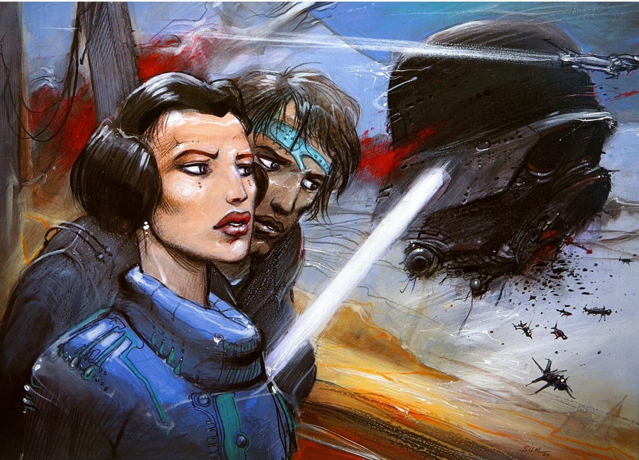 Star Wars, por Enki Bilal