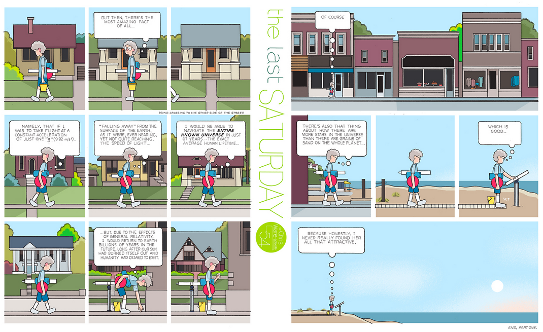 The Last Saturday: a HQ do Chris Ware pro Guardian – Parte #55