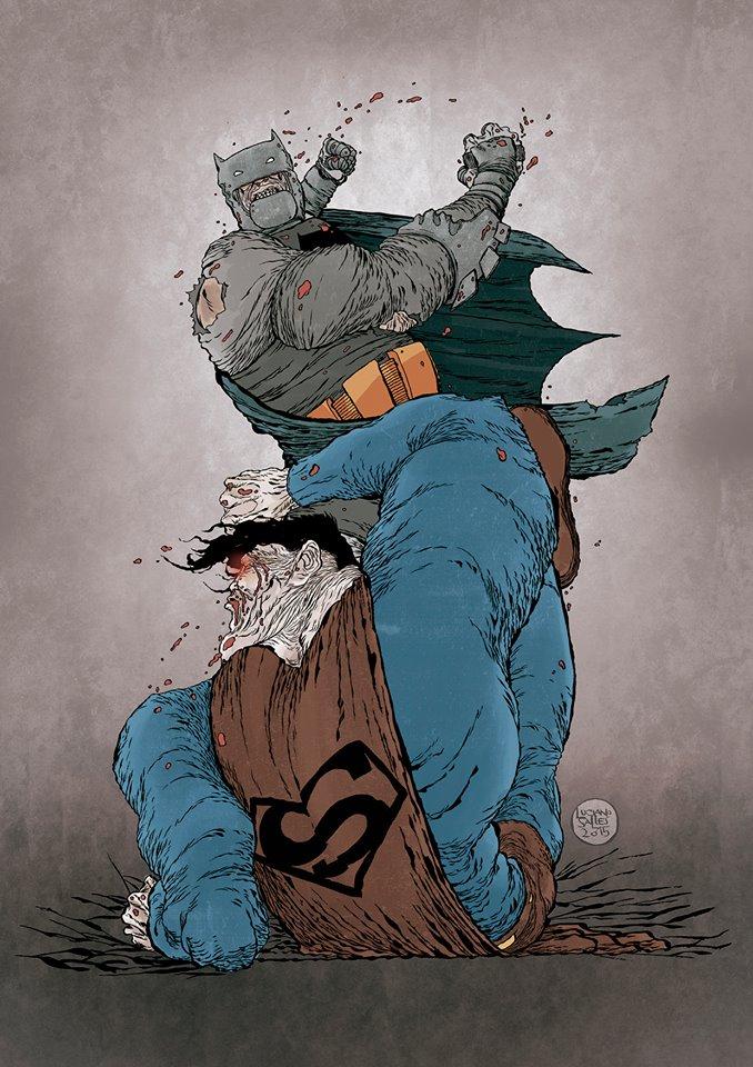 Batman X Super, por Luciano Salles