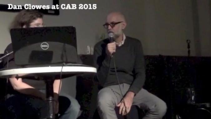 Daniel Clowes no C.A.B. 2015