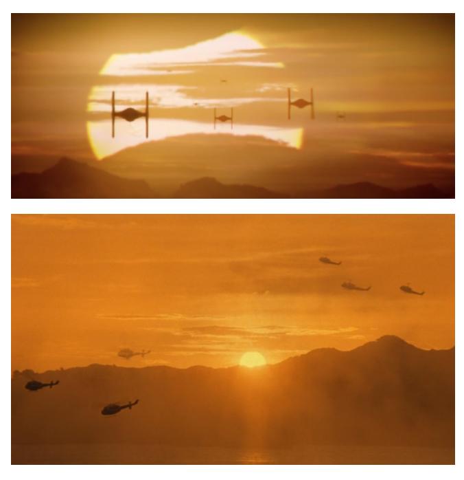 O Despertar da Força X Apocalypse Now