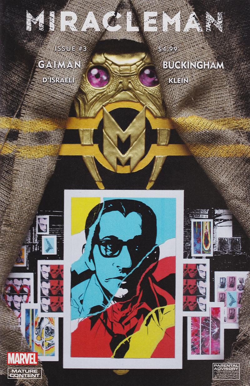 As capas de Miracleman #3 e #4 assinadas por Mark Buckingham