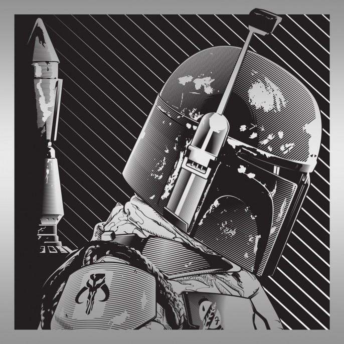 Star Wars, por Joshua Budich